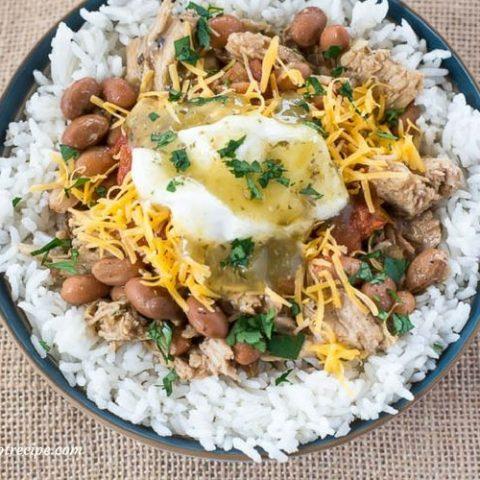 Mexican style Crock Pot Pork Chalupas recipe