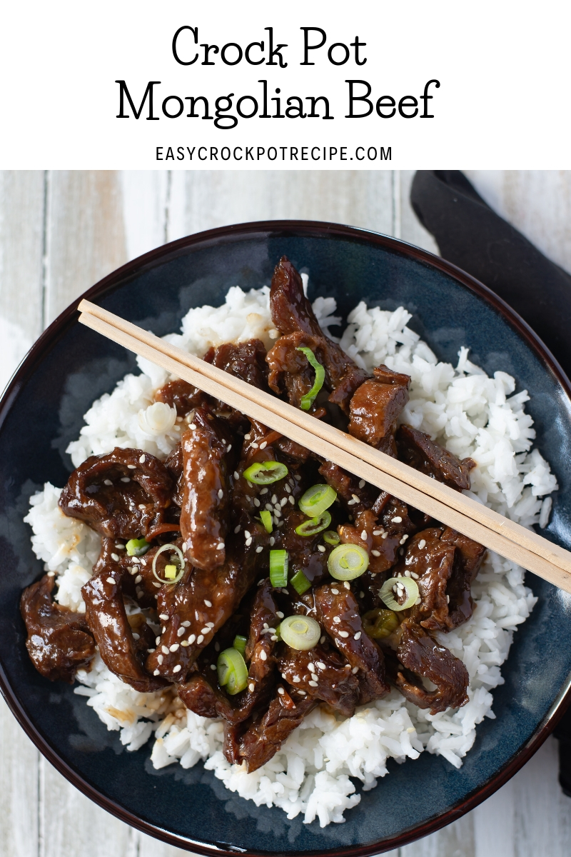 Crock Pot Mongolian Beef is so tender and delicious and you can make it at home cheaper.